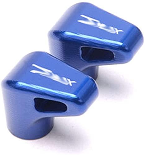 YOUYOUNX Tapas herméticas de Tallo de válvula de neumático de Rueda de Motocicleta, aptas para t MAX 530 2012-2015 tmax 500 2008-2011 T-MAX 560 2020-Blue