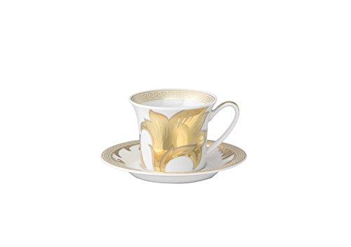 Versace Arabesque Gold, Espressotasse 2-TLG.