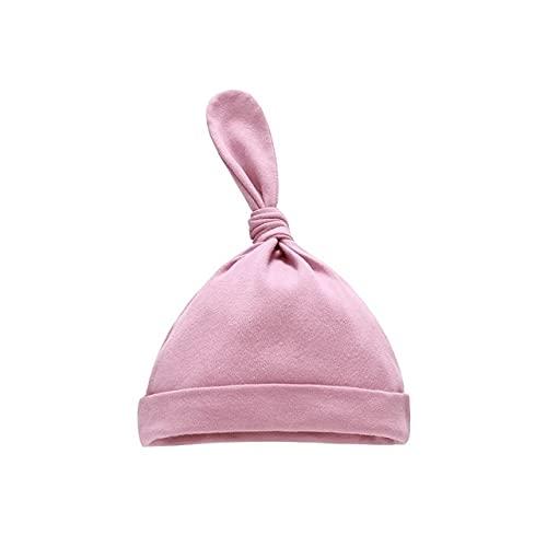Sombrero de bebé recién Nacido Accesorios de fotografía Gorra niños niño niña Kinderen Muts Gorro para niños Gorros para niños pequeños Touca Infantil-Purple Hat-One Size