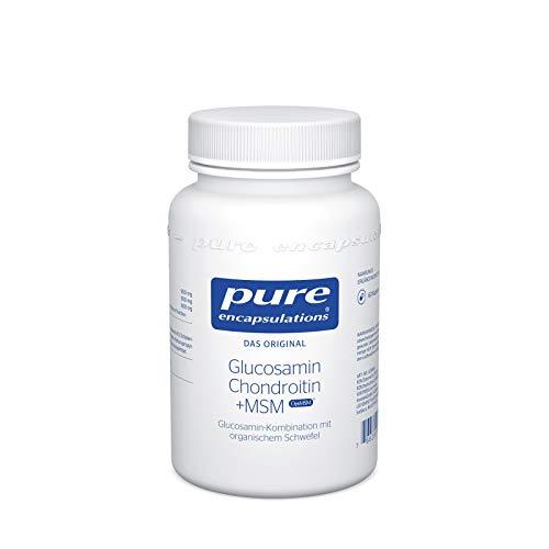Pure Encapsulations - Glucosamin Chondroitin + MSM - Glucosamin - 60 Kapseln