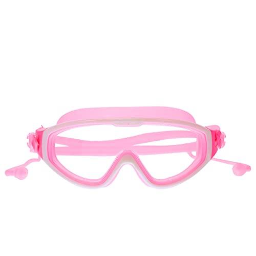 Occhialini da nuoto per bambine, con lenti larghe, protezione UV, ponte nasale autoregolante, guarnizioni Orbit-Proof