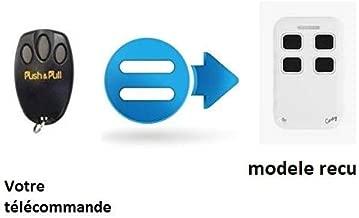 433 MHz T/él/écommande Porte De Garage Programmable 4 Boutons Multifr/équences Portail Alarme Lumi/ère by DURSHANI
