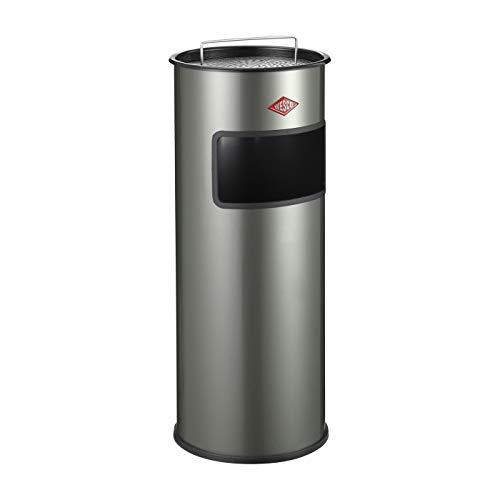 WESCO 150 601-03 Standascher 30 Liter, mit Sieb, neusilber