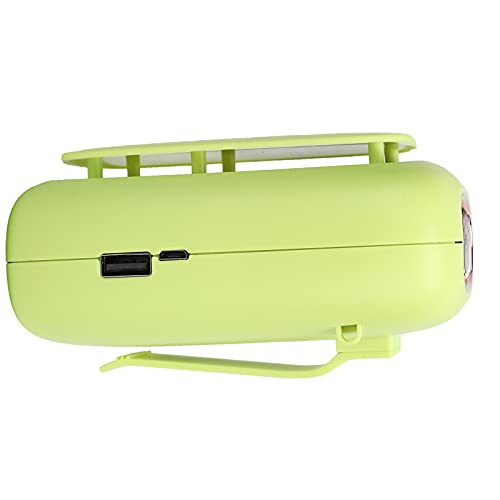01 Ventilador con Clip para Cintura, batería de 4000 mAh, Ventilador Colgante para el Cuello, Ventilador portátil Recargable para Deportes al Aire Libre, Barbacoa, Oficina