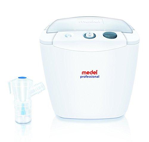 Medel 95140 Professional Apparecchio per Aerosolterapia a Compressore, Bianco