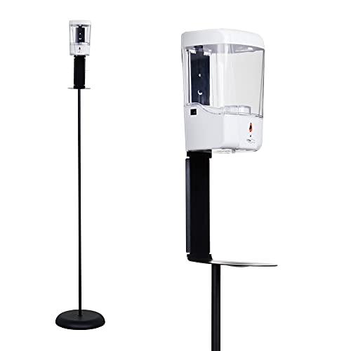 Dispenser gel disinfettante mani Gocciasana | Dispenser automatico con piantana | Colonnina igienizzante mani | dispenser igienizzante mani