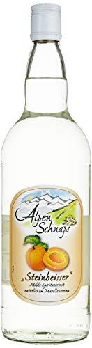 Alpenschnaps | Steinbeisser | 1 x 1l | Marille | pures Alpenglück im Glas