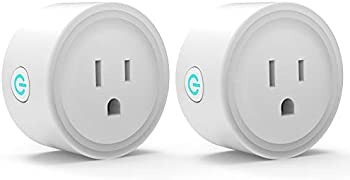 2-Pack Avatar Controls Smart Wi-Fi Outlet Switch