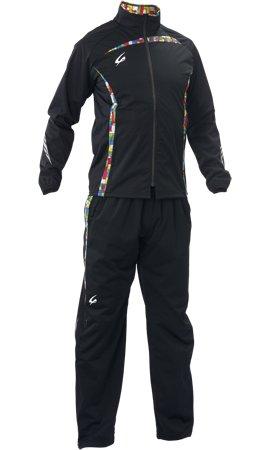 クレーマージャパン サーキュレーションスーツ (上下セット)(ブラック、Sサイズ) E734+E783