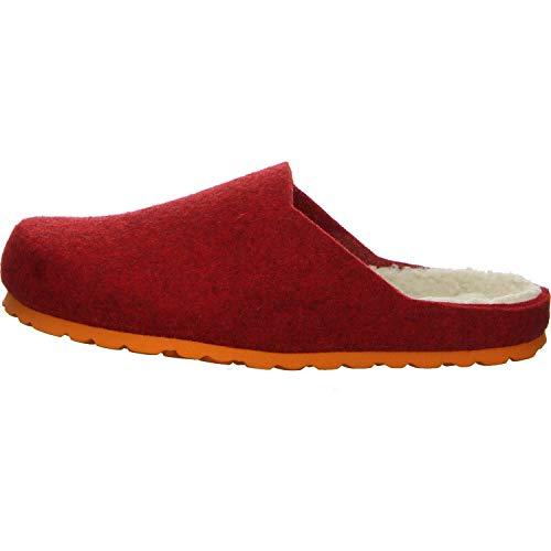 Salamander Damen Pantoffeln Hausschuh rot Gr. 39