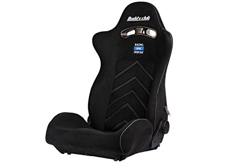 Buddy Club BC08-RSSS-B1 Black Racing Seats