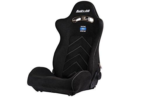 Buddy Club BC08-RSSS-B Black Racing Seat