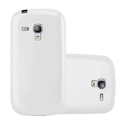 Handy Hülle kompatibel mit Samsung Galaxy S3 Mini | Schutzhülle in weiß | TPU Silikon Schutzhülle | Versand aus Deutschland