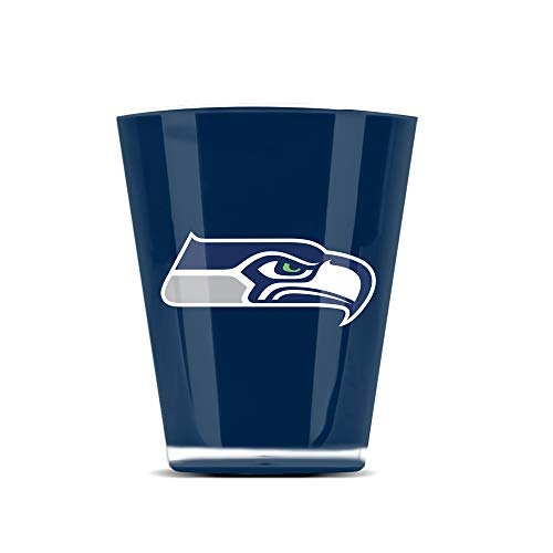 NFL Seattle Seahawks Insulated Acrylic Shot Glass Set of 4