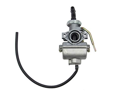 PZ20 Carburetor with Manual Choke Lever for 110cc, 125cc Quad ATV's, Dirtbike & GoKarts | Kandi TaoTao Coolster SunL K&F Standard of Japan