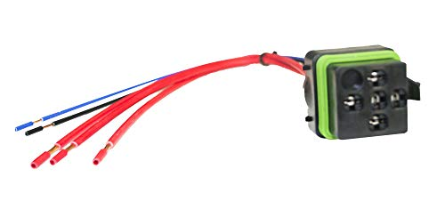 HELLA H84709001 Pig-Tail Wire Harness for Mini ISO Weatherproof Relays