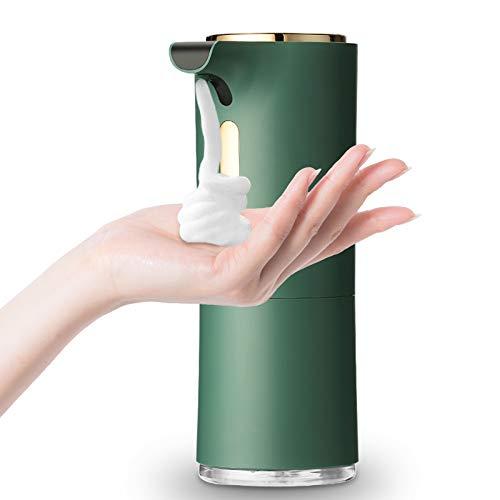 bigzzia Automatischer berührungsloser Schaumseifenspender, 250 ml Auto-Infrarot-Sensor-Seifenspender, wasserdichter Weihrauch-Basisspender