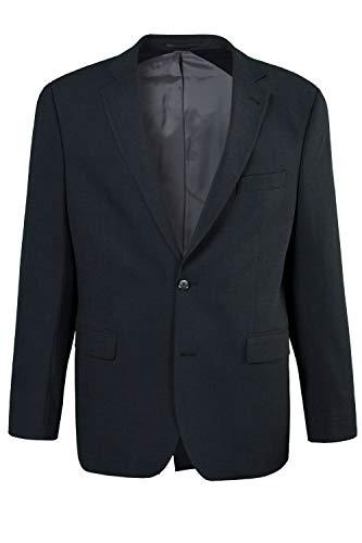 JP 1880 Herren große Größen bis 72, Anzug-Jacke, Baukasten-Sakko Zeus, FLEXNAMIC®, Schnurwoll-Qualität anthrazit 58 705512 11-58