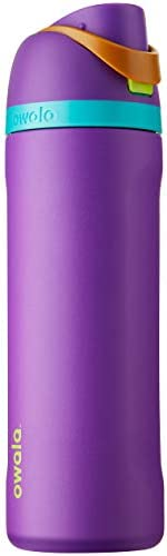 Owala FreeSip Insulated Stainless Steel Water Bottle with Locking Push Button Lid Valentines product image