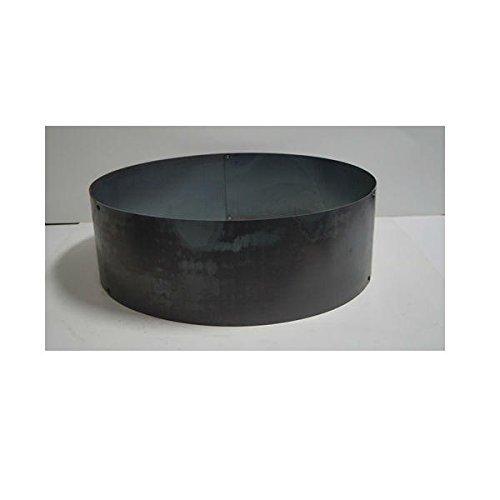 PD Metals Steel Campfire Fire Ring Solid Design - Unpainted - Medium 38 d x 12 h