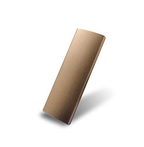 External Hard Drive 2TB, Portable Hard Drive External for PC, Laptop and Mac-gold