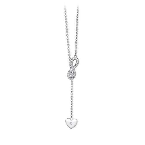 2 jewels collana acciaio 316l 251479 serie endless infinito