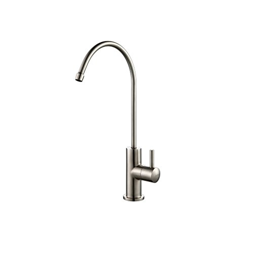 Zuhne Lead Free Food Grade Stainless Steel RO Compatible Single Lever Water Filter or Water Filtration Faucet