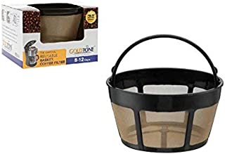 GOLDTONE Reusable 8-12 Cup Basket Coffee Filter fits Hamilton Beach Coffee Makers and..
