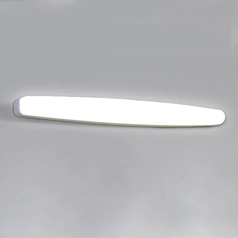 Badleuchten LED wei Acryl Spiegel Front Licht Badezimmer Anti-Fog-Wandleuchte Schminktisch Spiegel Schrank Lichter Wandlampe