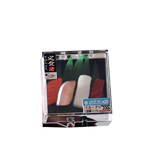 Simulación Sushi Set Decoración de estilo japonés Resina Casa de muñecas Accesorios de cocina Modelo para niños - B