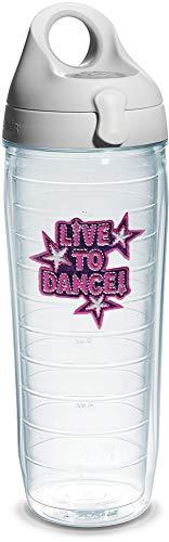 Tervis Botella de agua, Live to Dance, transparente – 1066227