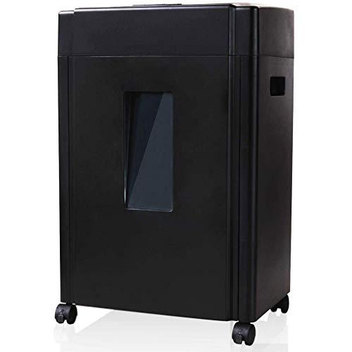 Nologo Xiaoxiao Aktenvernichter, Universal Tragbares Paper Shredder, Office File Shredder, große Kapazität, leiser und langlebiger papierschredder (Size : 35x25x55cm)