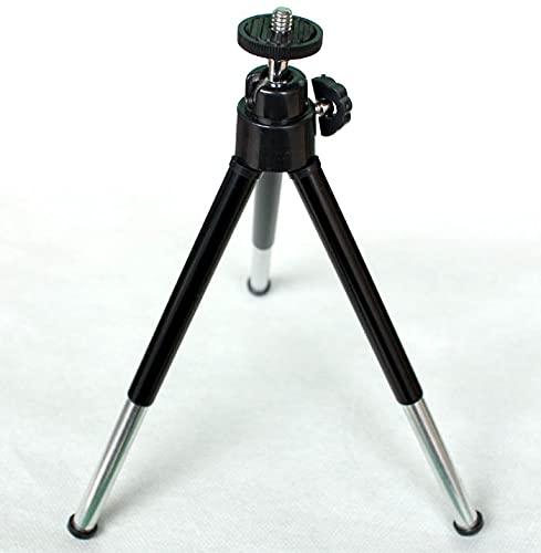 10.1 Zoll eReader/E-Ink TabletLeichter Stativ, Professionelles Stativ für Graviermaschine Reise- / Kamera-Stativständer (Schwarz)