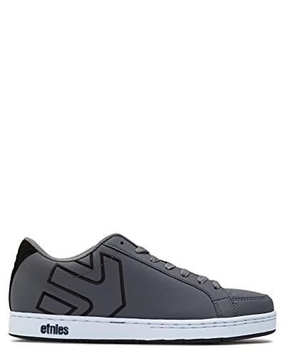 Etnies Herren Kingpin 2 Skate-Schuh, Grau/Schwarz, 42.5 EU