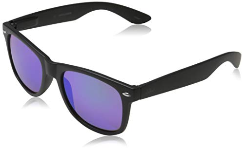 JACK & JONES Herren JACMATTEO Sunglasses Sonnenbrille, Black, ONE SIZE