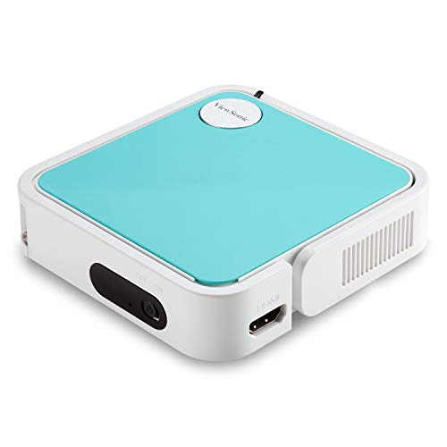 ViewSonic M1 mini Ultra-Portable LED Pocket Projector for Children's Entertainment with JBL Speakers