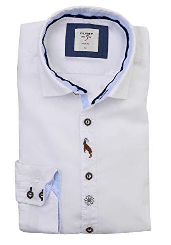 OLYMP 3908/64 Hemden, weiß(Weiss), Gr. L