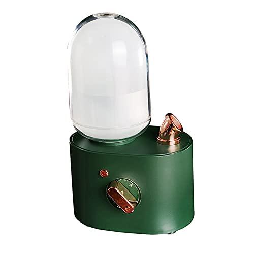 MagiDeal Aromaterapia di ricarica USB del mini diffusore dell'aroma dell'olio essenziale dell'umidificatore dell'aria per Humidifer - verde