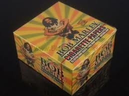 Bob Marley Pure Hemp Extra Long King Size Rolling Paper 50/box by Zion Rootswear