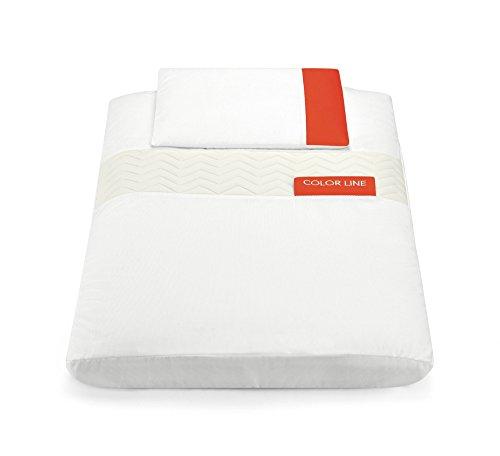 Cam Le Monde du enfant art926br Kit Textile, Blanc/Rouge