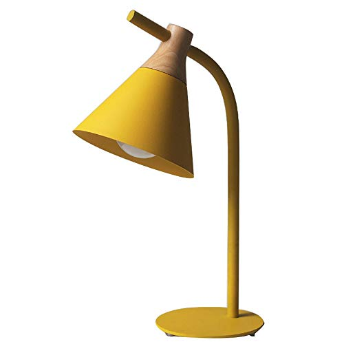 Liangsujiantd Flexo Led Escritorio, Lámpara de mesilla de noche minimalista de hierro, lámparas de mesa que cuidan los ojos, bajo consumo de energía, luces ligeras for el cuidado de los ojos for leer,