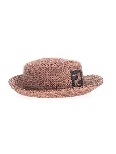FENDI Luxury Fashion Herren FXQ789ABCNF0QD5 Braun Stoff Hut | Frühling Sommer 20