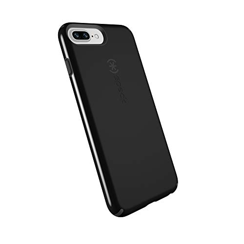 spec iphone 7 plus cases Speck Products CandyShell Cell Phone Case for iPhone 8 Plus/7 Plus/6S Plus - Black/Slate Grey