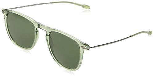Nooz Gafas de sol polarizadas para hombre y mujer - Protección de categoría 3 - Color verde claro - con estuche compacto - Colección DINO