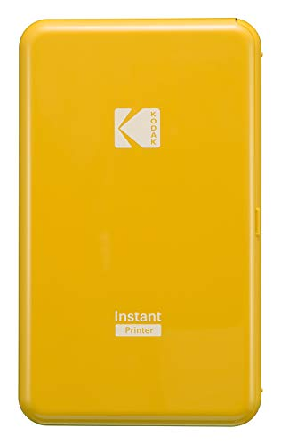 KODAK スマホ用インスタントプリンター P210イエロー Bluetooth接続 P210YE 【国内正規品】