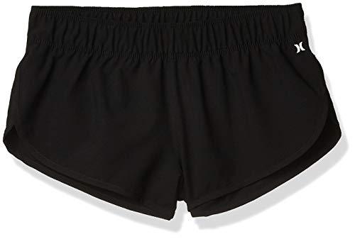 Hurley W Supersuede Beachrider Bs, Shorts Da Surf, Donna, Nero, XS