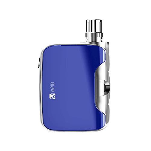 VAPTIO 2100mAh 50W Kit de cigarrillo electrónico Vape, Todo en uno Vape Starter kit, No E Liquid No Nicotine (fusion 50 bule)