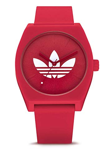 Process_SP1 Silicone Strap, 20mm Width (34mm) - Trefoil/Red