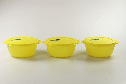 Tupperware Microonde Cryst alwave 1,5L Giallo (3) Micro Wave Fix Pop Plus P 23338
