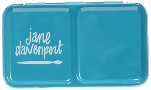 American Crafts Glitz-Sea Jane Davenport Mixed Media 2 Watercolor Set 13/Pkg